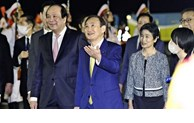 国际媒体高度评价日本首相菅义伟访越之行
