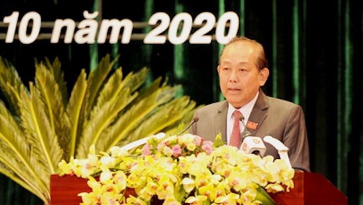 张和平副总理:岘港需强化中部—西原地区中心城市的作用