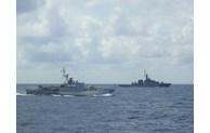 越泰两国海军举行第42次联合巡逻