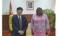 莫桑比克十分重视发展与越南的关系