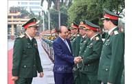 越南政府总理阮春福调研访问国防学院