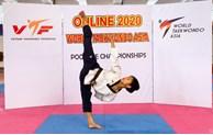 越南运动员范国越夺得2020年亚洲跆拳道锦标赛铜牌