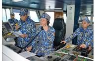 越中致力建设和平、稳定与合作的海域