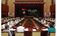 第十一届胡志明市市委第三次会议开幕
