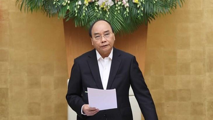 政府总理阮春福要求严肃处理违反防疫规定的行为