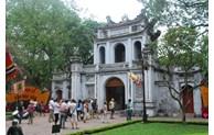 11月份,河内接待旅游量上升