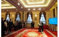 越南驻中国大使范星梅在2021新年前夕会见新闻媒体代表