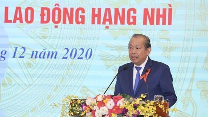 张和平副总理:相信越南将于2030年基本制止艾滋病疫情