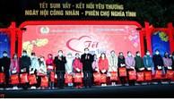 党和国家领导慰问北宁和富安省工人