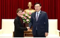 河内市与新加坡继续加强合作关系