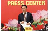 越共中央宣教部举行越共十三大国际新闻发布会