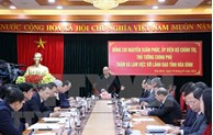 阮春福总理:和平省应着力改善营商环境以吸引投资