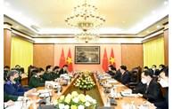 越南国防部长吴春历大将会见中国公安部长赵克志
