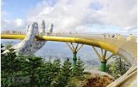 """岘港市金桥被列入""""世界新奇迹""""名单"""
