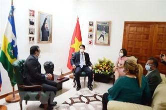 越南和委内瑞拉促进农业合作
