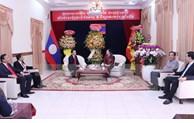 胡志明市领导向老挝驻胡志明市总领事馆致以2021年新年祝福