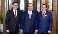 外国领导人发贺电祝贺越南新一届领导人
