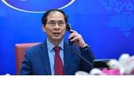 老挝、柬埔寨和印尼三国外长分别与越南新任外交部长通电话