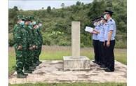 越中举行边境会晤和联合巡逻活动