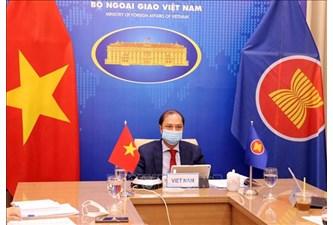越南外交部副部长阮国勇出席第34次东盟-美国对话会