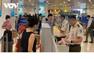 越南新山一和内排国际机场暂停所有入境国际客运航班