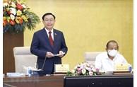 国会主席王廷惠:选举活动已圆满成功