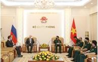 越南与俄罗斯进一步加强军事技术合作