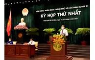 第十届胡志明市人民议会召开第一次会议
