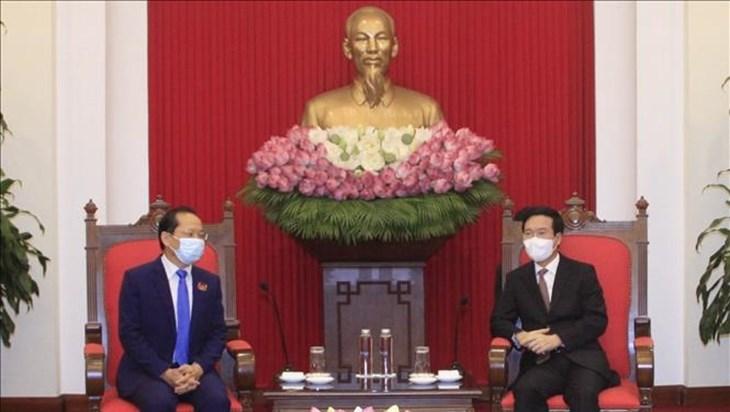 越南愿为柬埔寨克服疫情困难提供帮助