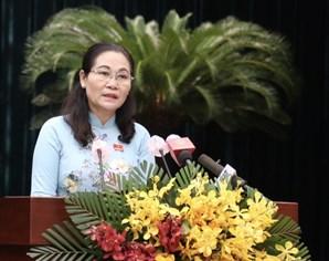 第十届胡志明市人民议会第一次会议闭幕