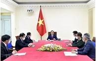 越南政府总理范明正与中国国务院总理李克强举行电话会谈