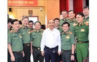 国家主席阮春福高度评价人民公安在保障社会治安秩序中所发挥的作用