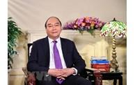 阮春福主席发表越南家庭日20周年寄语