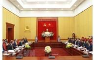 促进英国执法部门与越南公安部的合作关系