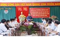国会主席王庭惠与多农省委常委会举行工作会议