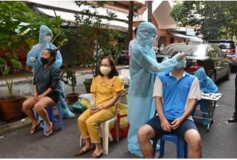 28日上午,越南报告新增2861例新冠肺炎确诊病例
