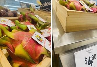 越南火龙果颇受澳大利亚消费者的喜爱