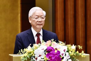 阮富仲总书记在越共中央政治局05号指示5年执行情况的全国总结会议上的讲话(全文)