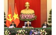 越共中央总书记阮富仲出席中国共产党与世界政党领导人视频峰会