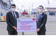 胡志明市接收印度政府捐赠的300台制氧机和100吨医用氧