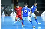 2021年国际足联五人制足球世界杯:越南队对阵巴西队