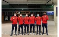 越南男子网球队启程前往约旦参加Davis Cup世界男子网球团体锦标赛