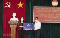 武氏映春副主席在安江省开展疫情防控慰问工作
