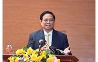 范明正总理出席国防部国防学院2021-2022学年开学典礼