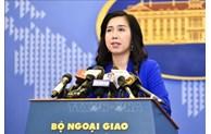 越南就中国正式施行《海上交通安全法》(修正案)一事做出回应