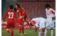 越南女子足球队赢得 2022 年亚洲杯决赛门票