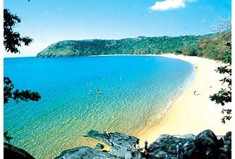 巴地-头顿省昆岛县恢复旅游活动  保障防疫相关规定