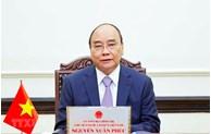 越南国家主席阮春福向胡志明市选民致信
