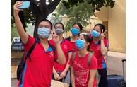 河内市青年志愿者积极参与防疫工作