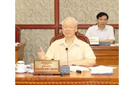 越共中央政治局就经济社会情况作出指示